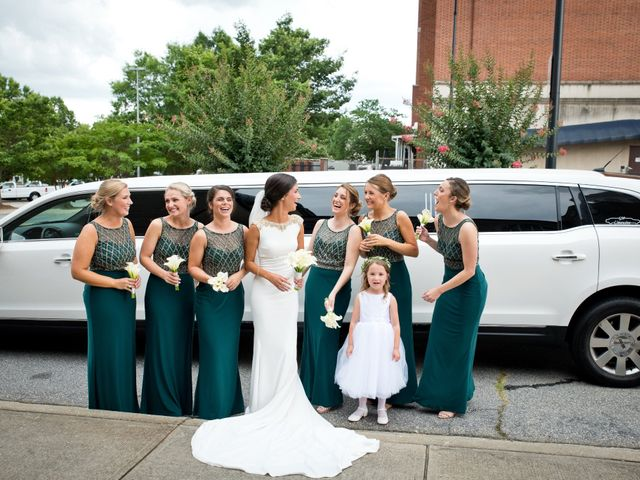 Evan and Lea's Wedding in Greenville, South Carolina 8