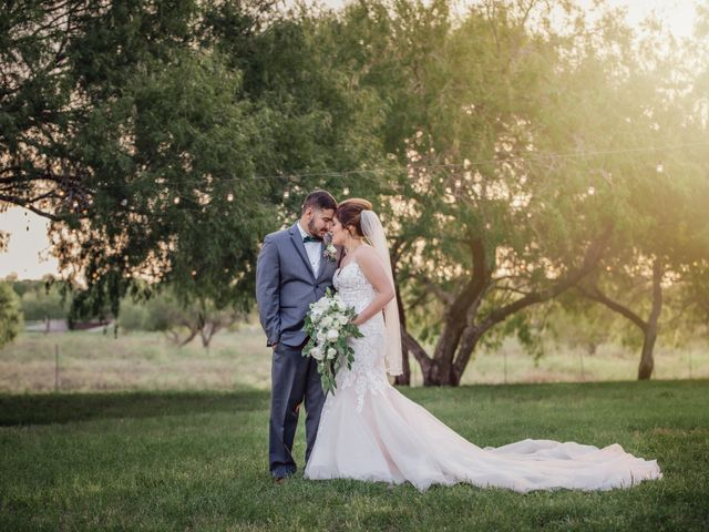 The wedding of Kaitlin and Derrick
