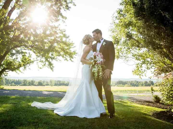 The wedding of Amanda and Stephen