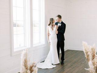 The wedding of Olivia and Chris