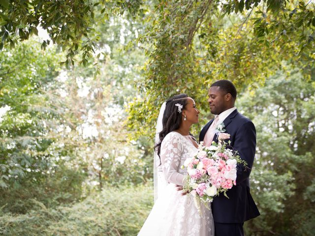The wedding of Candice and Renardo