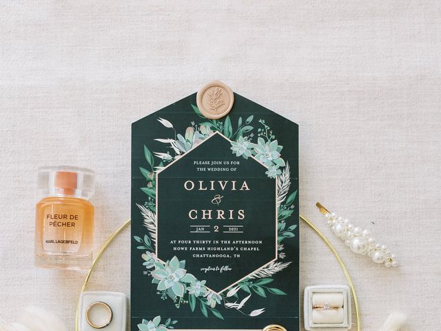 Chris and Olivia's Wedding in Georgetown, Tennessee 11