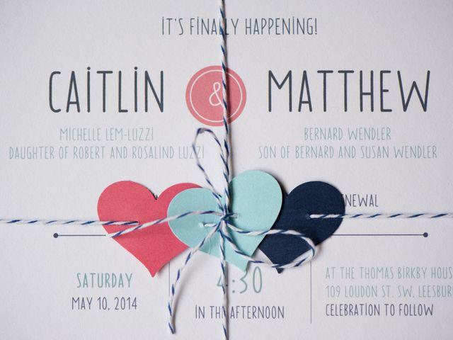 Caitlin and Matthew's Wedding in Leesburg, Virginia 2