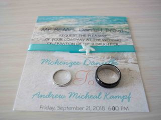 The wedding of Mckenzee and Andrew 1