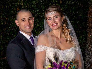 The wedding of J.P. and Heidi