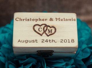 The wedding of Melanie and Christopher 1
