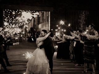 The wedding of Kara and Alex 1