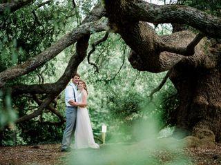 The wedding of Caroline and Josh