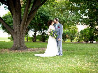 The wedding of Elizabeth and Ben