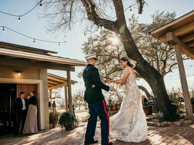 The wedding of Tania and James