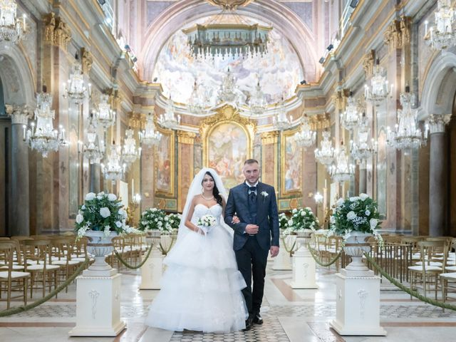 The wedding of Francesca and Angelo