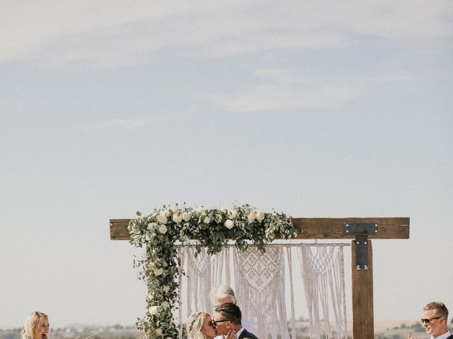 Rheana and Carter's Wedding in Echo, Oregon 41