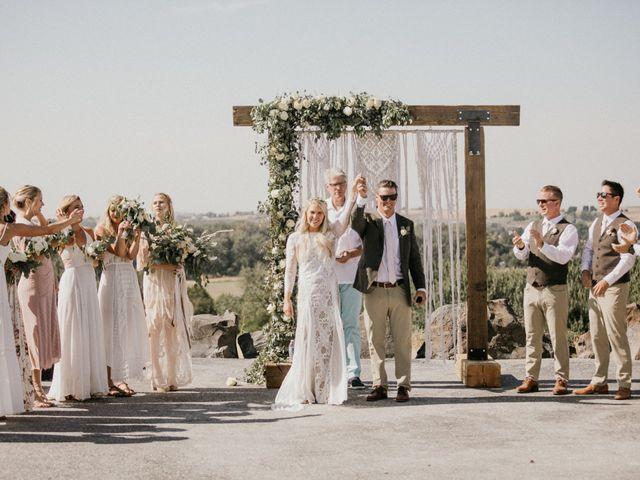 Rheana and Carter's Wedding in Echo, Oregon 42