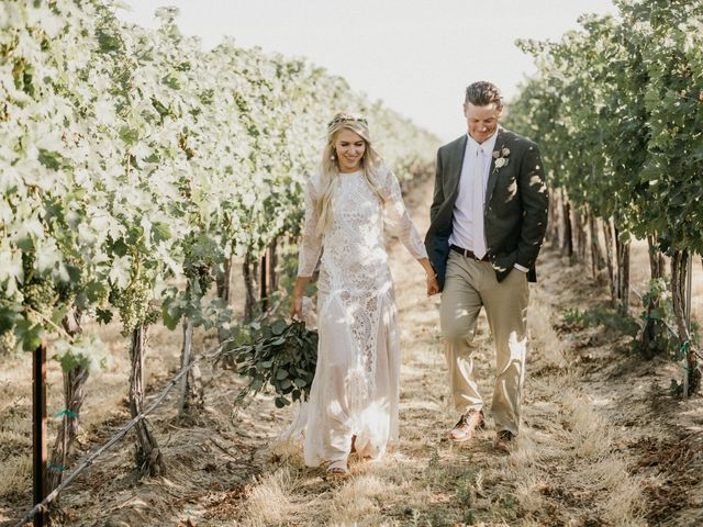 Rheana and Carter's Wedding in Echo, Oregon 51