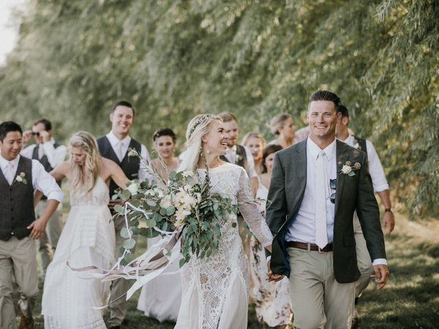 Rheana and Carter's Wedding in Echo, Oregon 71