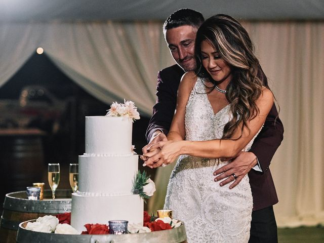 The wedding of Vanessa and Tyson