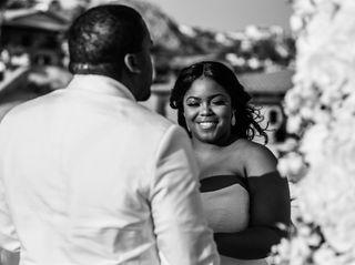 The wedding of Aysha and Maurice 3