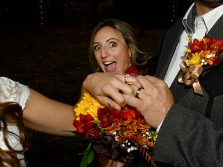 The wedding of Leslie and Shawn 3