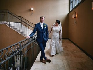 The wedding of Kathy and Joe