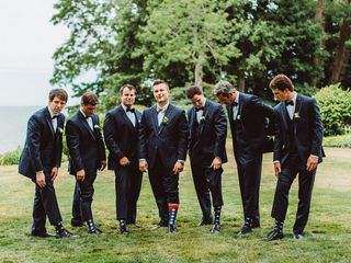 Jenna and Taylor's Wedding in Rocky River, Ohio 9