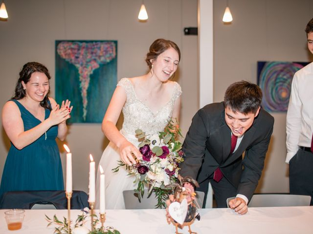 Brian and Rebekah's Wedding in Ames, Iowa 5