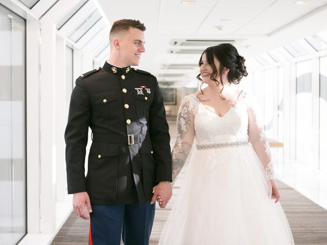 The wedding of Austin and Jillian