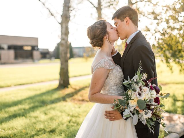 The wedding of Rebekah and Brian