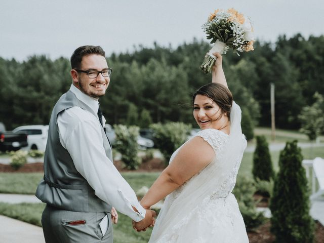 Holly and Trevor's Wedding in Mount Pleasant, North Carolina 3