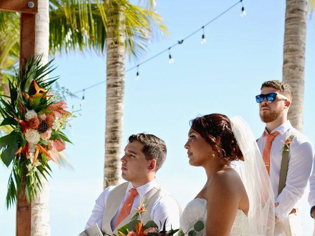Daniel and Kyarra's Wedding in Marathon, Florida 13