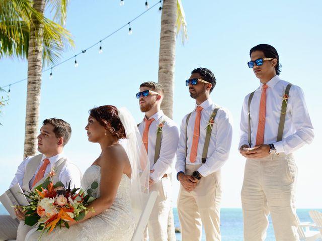 Daniel and Kyarra's Wedding in Marathon, Florida 14
