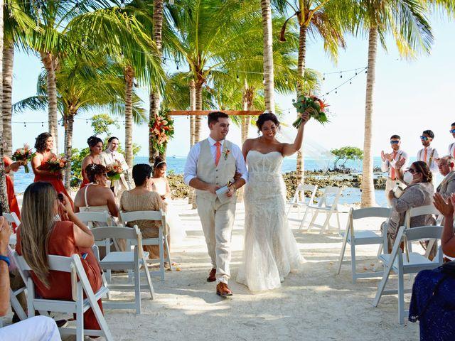 Daniel and Kyarra's Wedding in Marathon, Florida 15