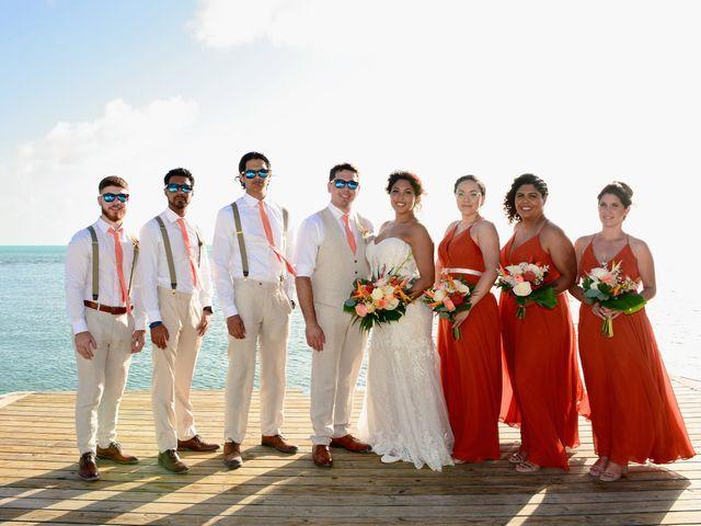 Daniel and Kyarra's Wedding in Marathon, Florida 16