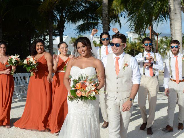 Daniel and Kyarra's Wedding in Marathon, Florida 19