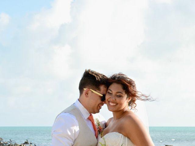 Daniel and Kyarra's Wedding in Marathon, Florida 28