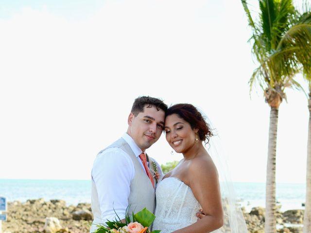 Daniel and Kyarra's Wedding in Marathon, Florida 29