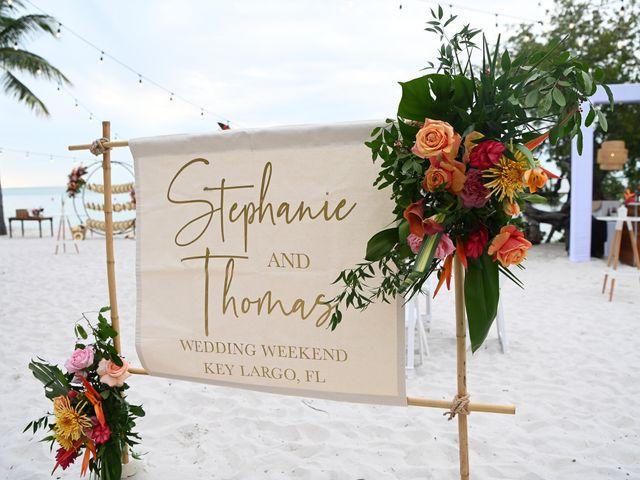 TOM and STEPHANIE's Wedding in Key Largo, Florida 40