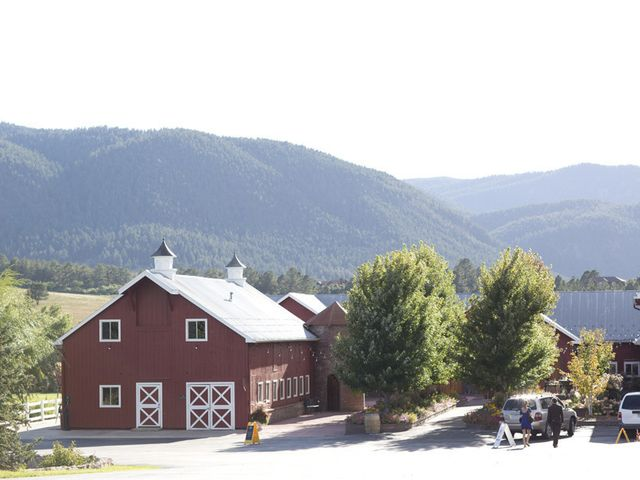 Emily and Todd's Wedding in Larkspur, Colorado 1