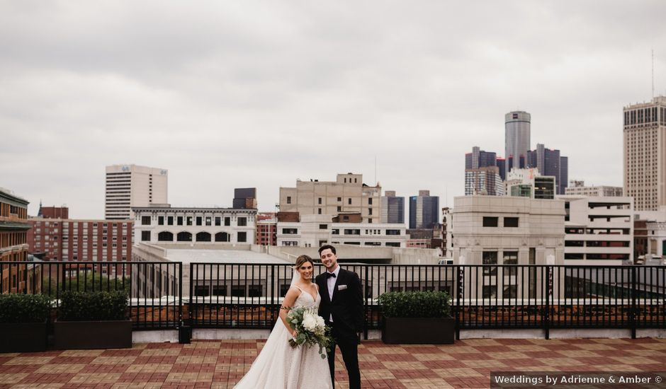 Shelby and Jake's Wedding in Detroit, Michigan