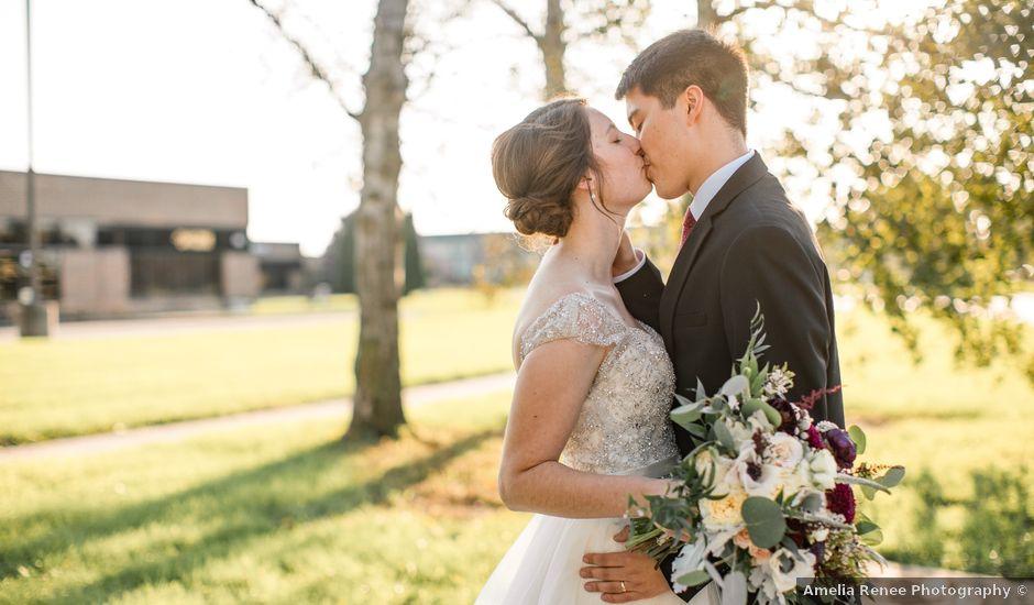 Brian and Rebekah's Wedding in Ames, Iowa