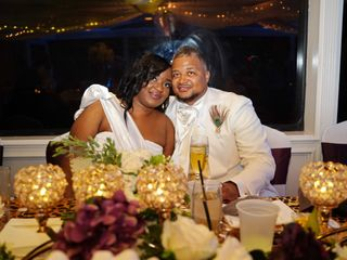 The wedding of Temple and Marquita