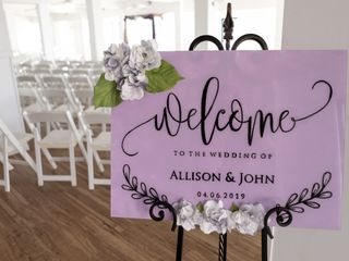 The wedding of Allison and John 1