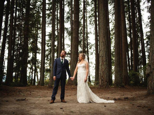 Zach and Tiffanie's Wedding in Poulsbo, Washington 1