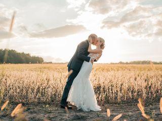 The wedding of Sadie and Joe