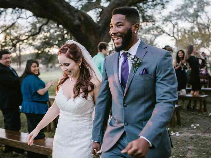 The wedding of Abby and Jaylon