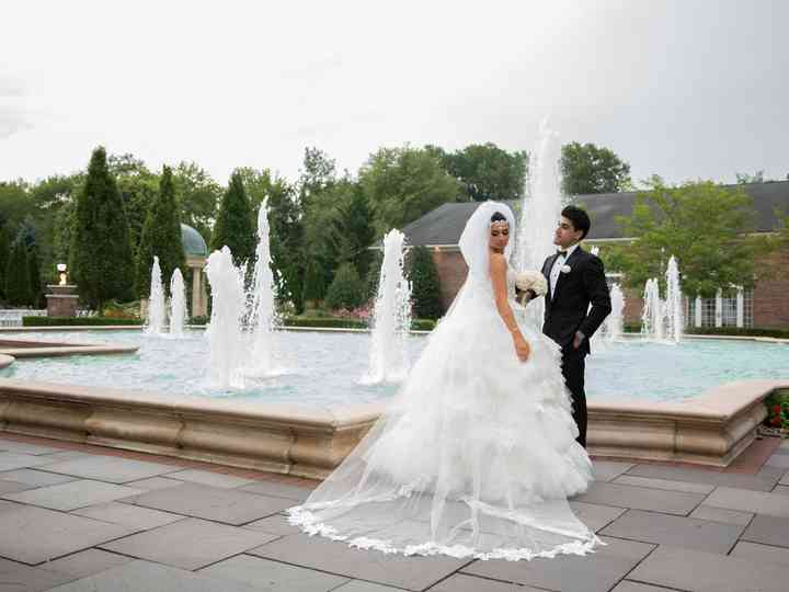 The wedding of Amir and Ariana