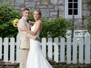 The wedding of Megan and Andrew