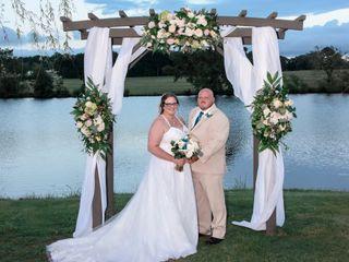 The wedding of Lindsey and Chris