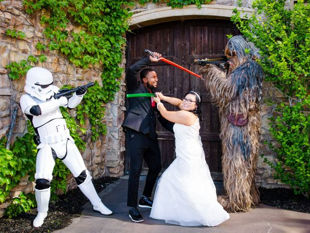 Joseph and Jennifer's Wedding in Meadow Vista, California 49