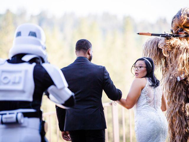 Joseph and Jennifer's Wedding in Meadow Vista, California 56
