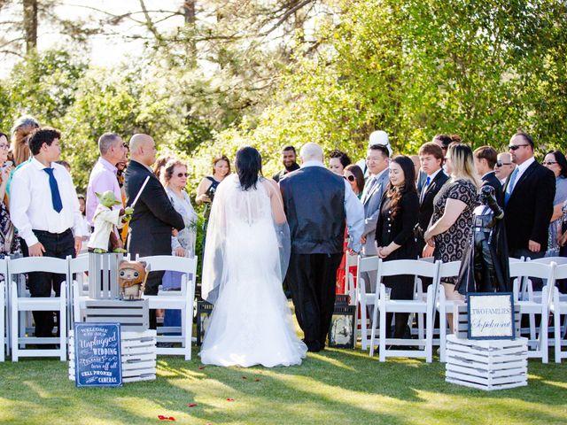 Joseph and Jennifer's Wedding in Meadow Vista, California 68